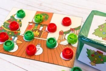 Preschool Christmas Counting Game
