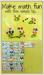 math sticky wall activities