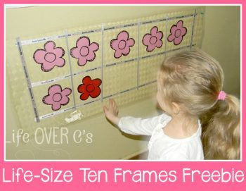 ten frames and number bonds for adding to 10 and adding to 20