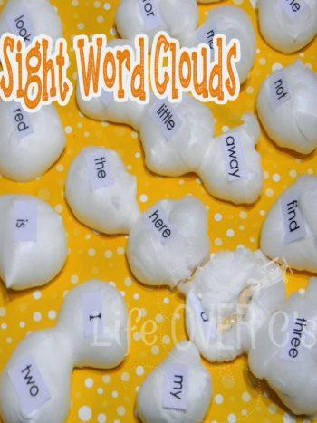 sight words crafts for preschool kindergarten