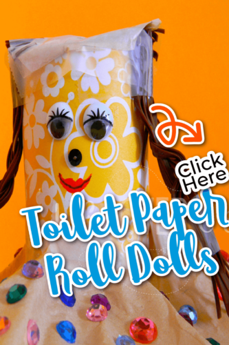 Toilet Paper Roll Dolls Crafts for Preschoolers