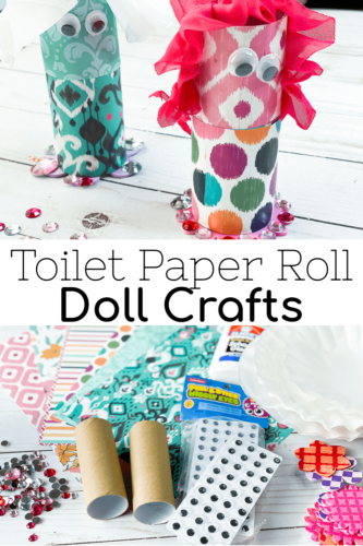 Easy Toilet Paper Roll Doll Crafts