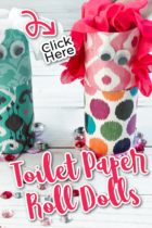 DIY Toilet Paper Roll Dolls