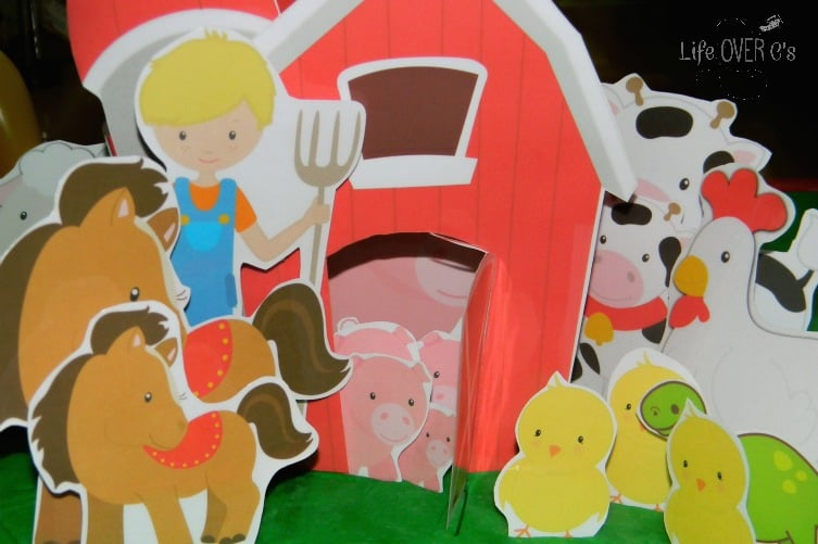 play dough interactive farm scenery mega for preschooolers