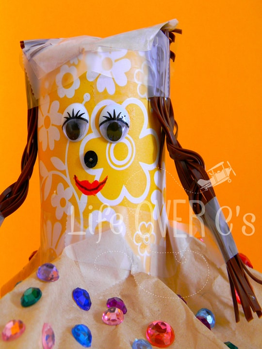 cute toilet paper roll doll craft