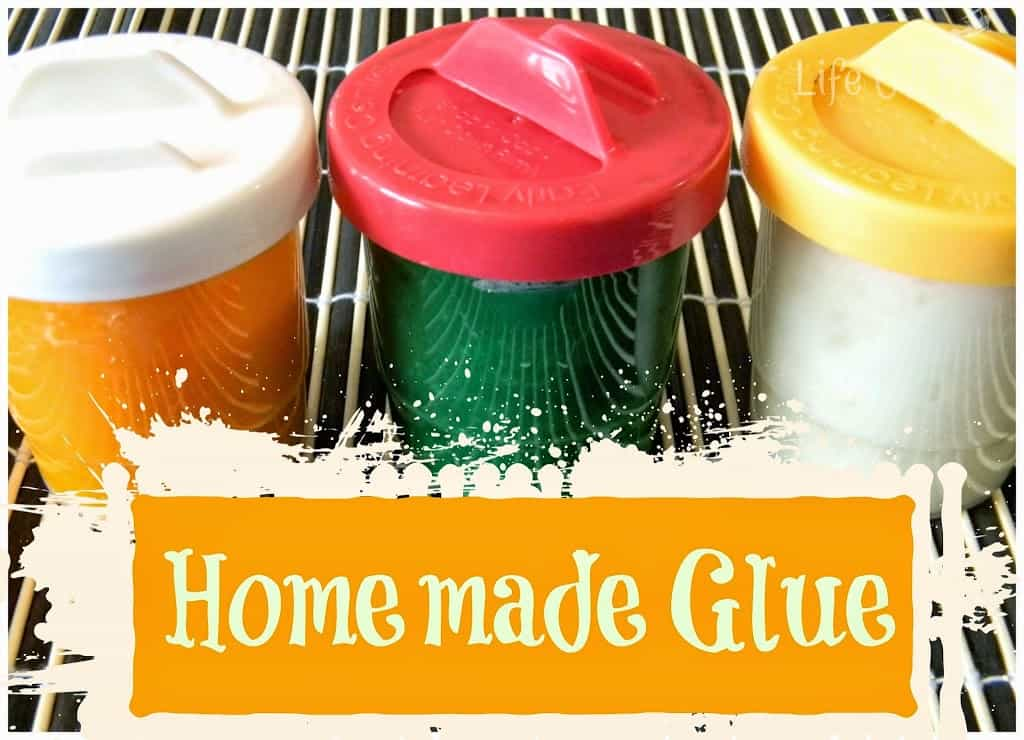 Make glue with items from your pantry!
