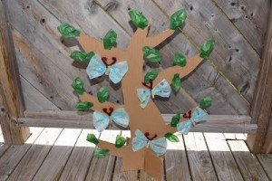 butterfly tree craft