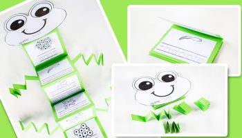 These 3 frog freebies for kindergarten are a great addition to any frog unit!
