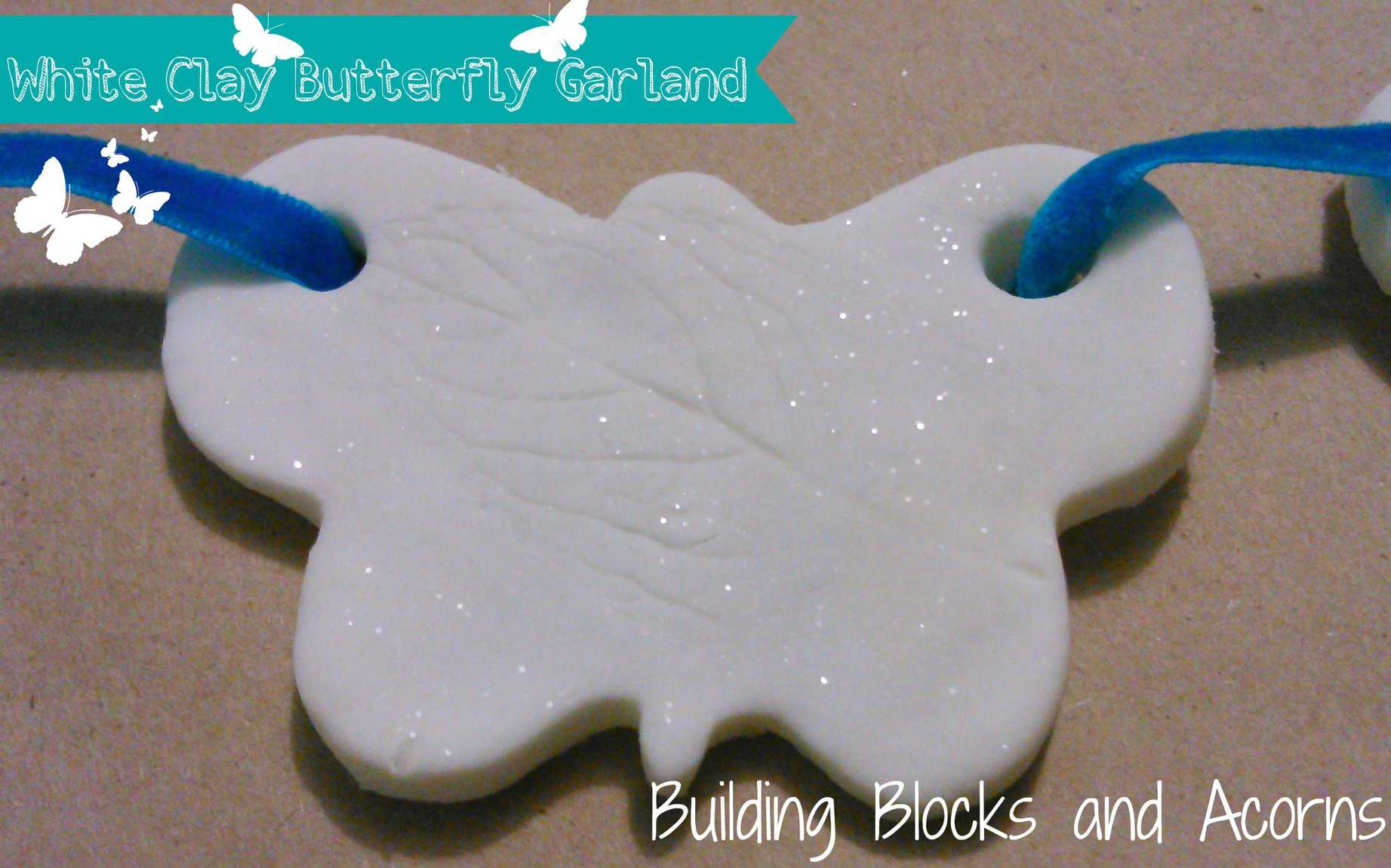 A simple butterfly craft made from items in your pantry.