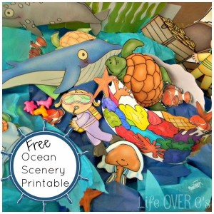 Ocean play dough printable