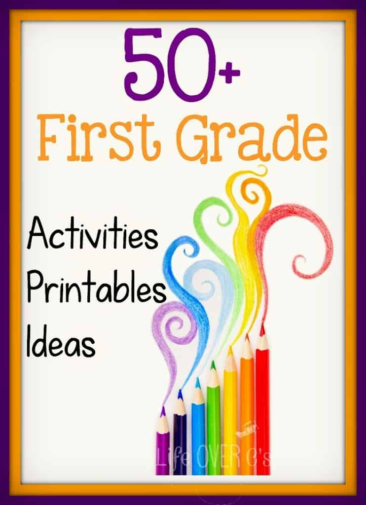 first grade activities printables and ideas