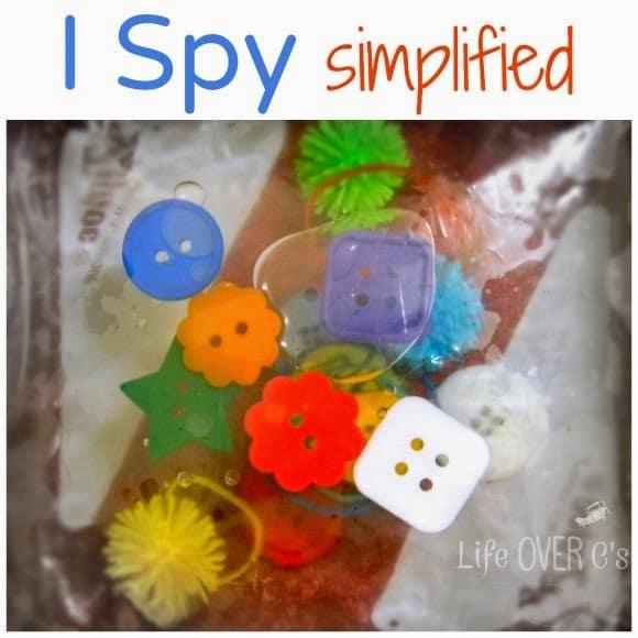 i spy sensory bag