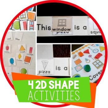 4 Free Printable 2D Shape Activities Featured Image