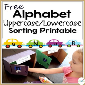 These alphabet cards are great for learning uppercase and lowercase letters.