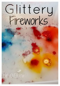 vinegar baking soda science fireworks