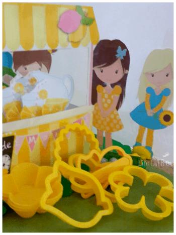 lemonade stand printable for play dough