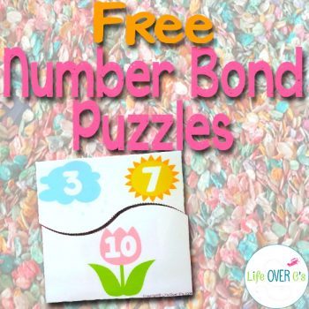 numbers bond puzzles