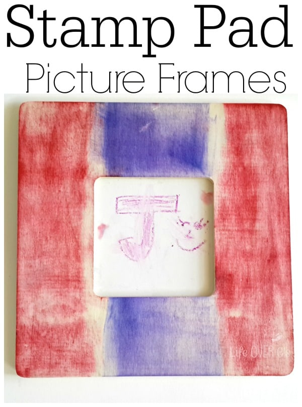 Rainbow Picture Frames in Less Than Five Minutes