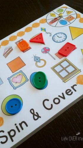 2d shapes spin and cover