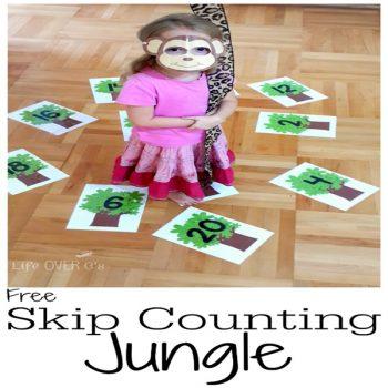 skip count jungle theme