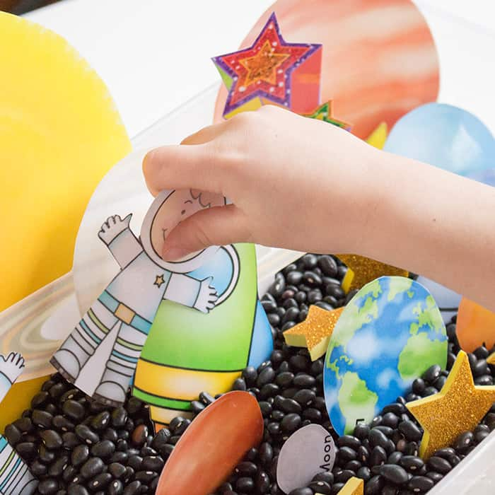 Solar System Play Dough Printable
