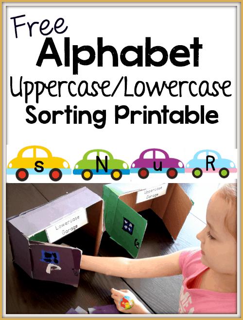 FREE Alphabet Sorting Activity