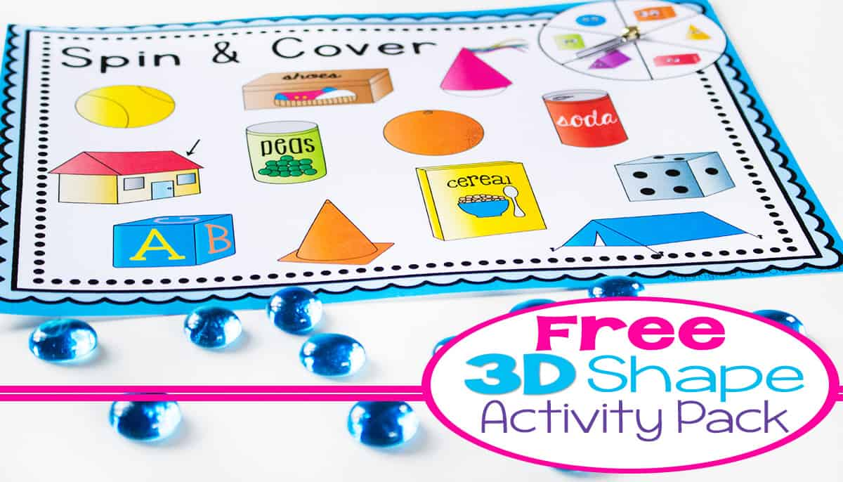 3d shapes free printable activities life over cs