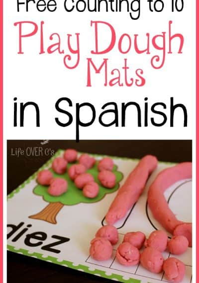 Practice counting from 1-10 and addition with these free interactive play dough tree mats.