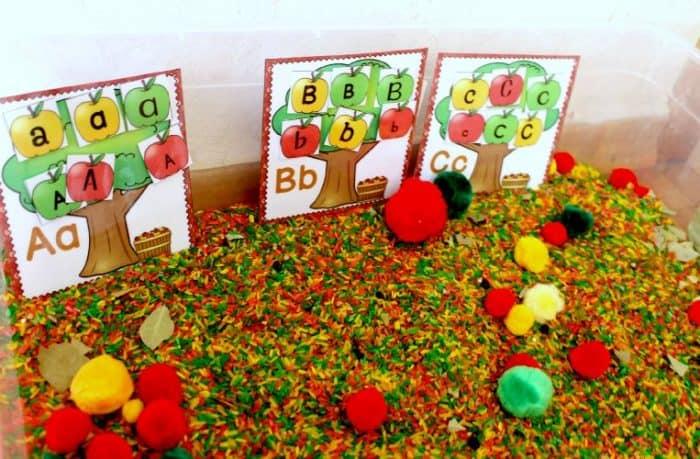 apple trees alphabet