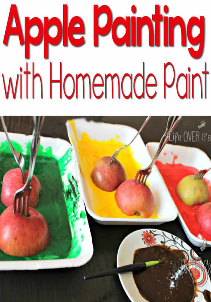 Apple Painting Tips & Tricks for less mess and more fun!