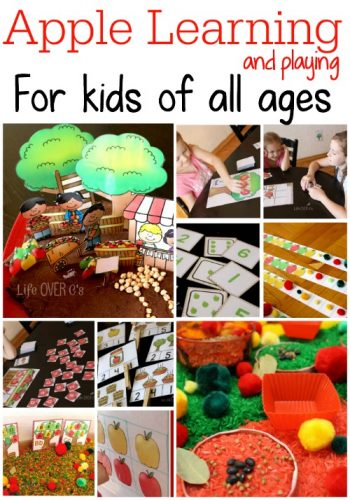 Apple learning and play activities