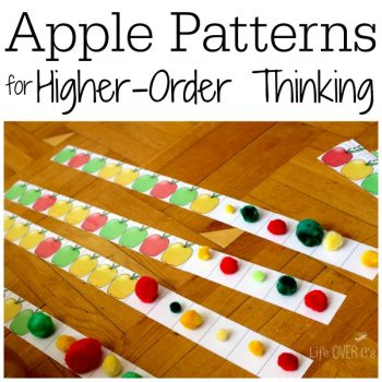 apple pattern free printable