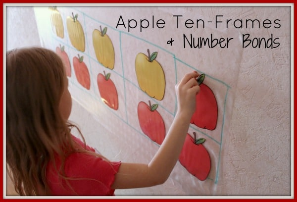 apple ten frame activity