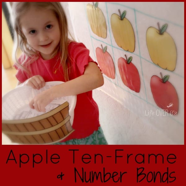 apple math activity for adding