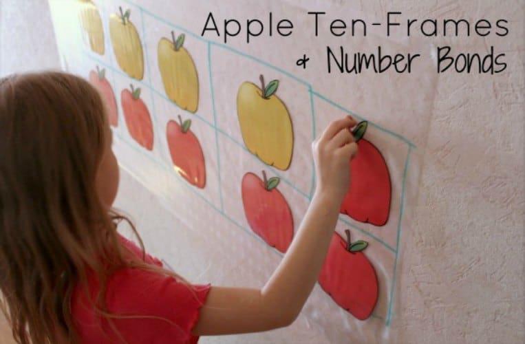 FREE Interactive Apple Ten-Frames