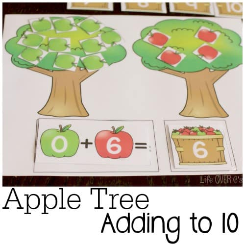 adding to 10 apple trees
