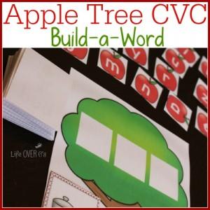apple tree cvc word families