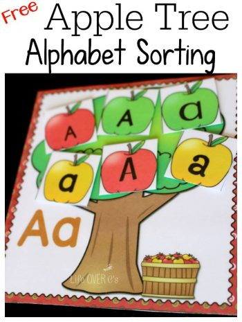 Apple Tree Alphabet font sorting
