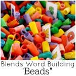 Build phonetic blends with this fun multi-sensory activity and free printable.