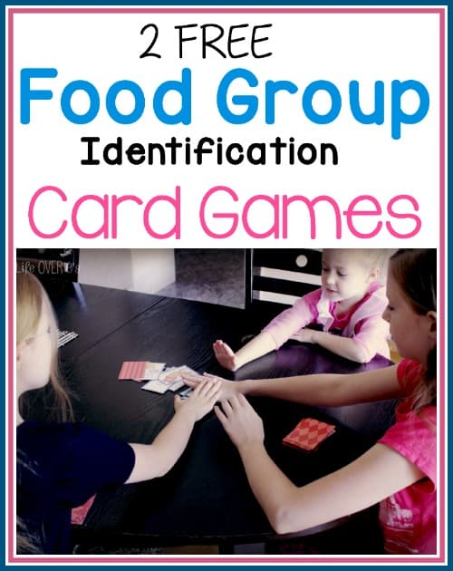 Learn about food groups with this super fun card game.