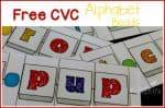 Free CVC Alphabet Beads activity