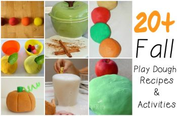 Fall play dough activities and recipes
