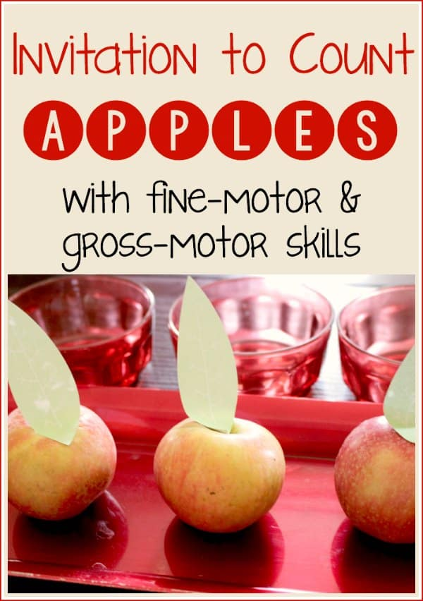 Counting Apples with Preschoolers: Real-Life Math