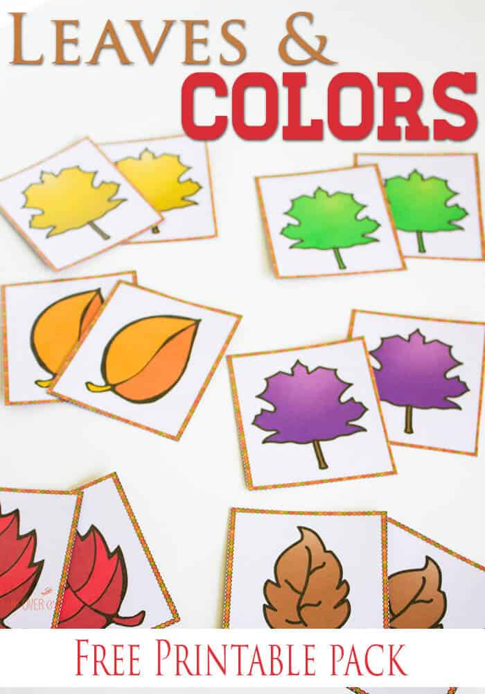 photo regarding Free Printable Fall Leaves titled Cost-free Slide Hues Printable Functions for Preschoolers