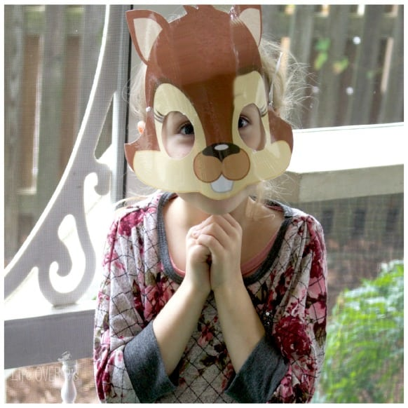 girl in squirrel mask
