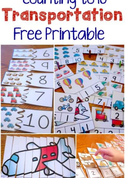 30 Hands On Counting Activities For Kids Life Over Cs