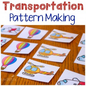 Gross-Motor Transportation Game for Preschoolers