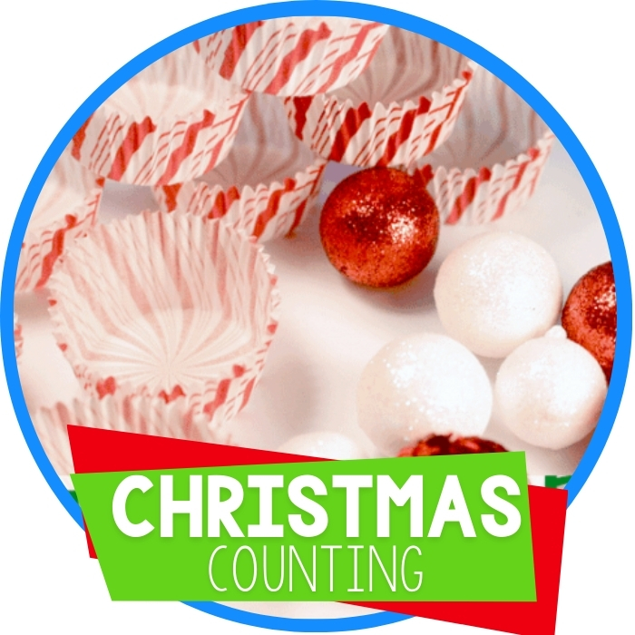 Christmas Counting Busy Bag for Learning
