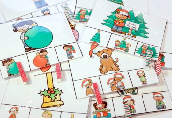 This exciting Christmas preschool pack is full of games and activities to make learning fun for every preschooler! It covers matching, patterns, counting to 10, missing numbers, sorting and a pretend play set that can be used for speech therapy or to introduce new vocabulary.