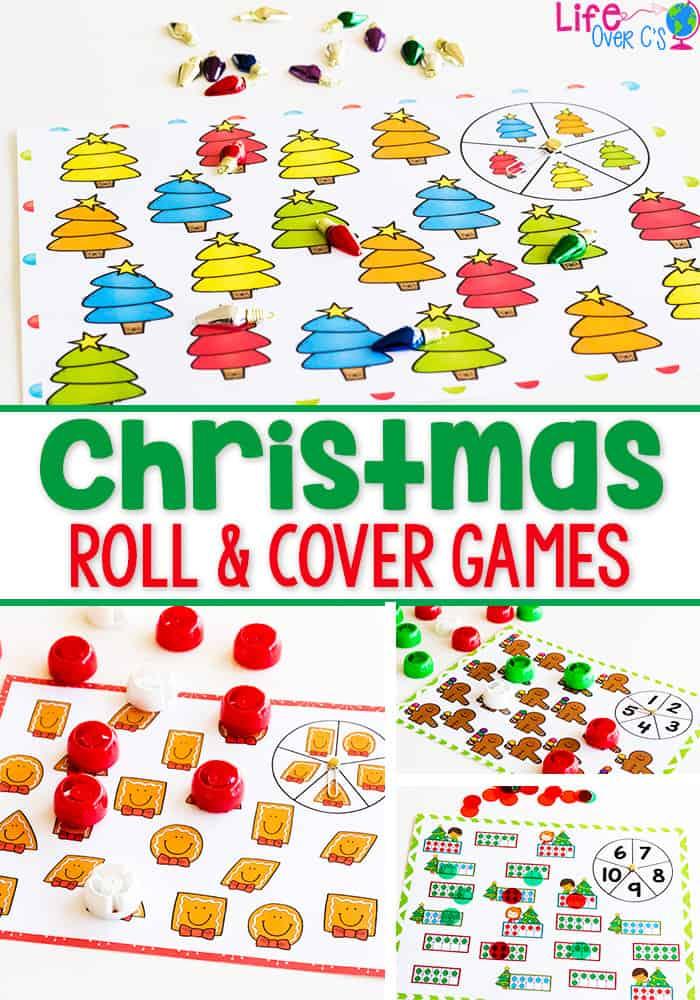Christmas Preschool Printable Pack